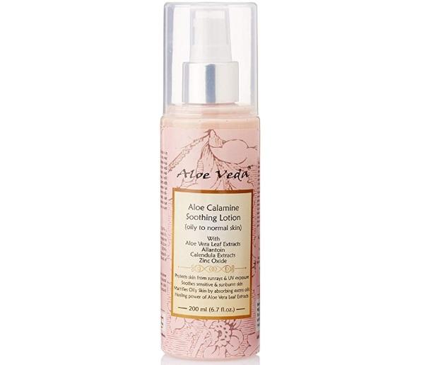 Aloe Veda Aloe Calamine Calming Skin Lotion