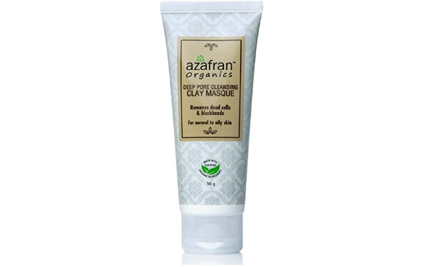 Azafran Organics Deep Pore Cleansing Clay Masque