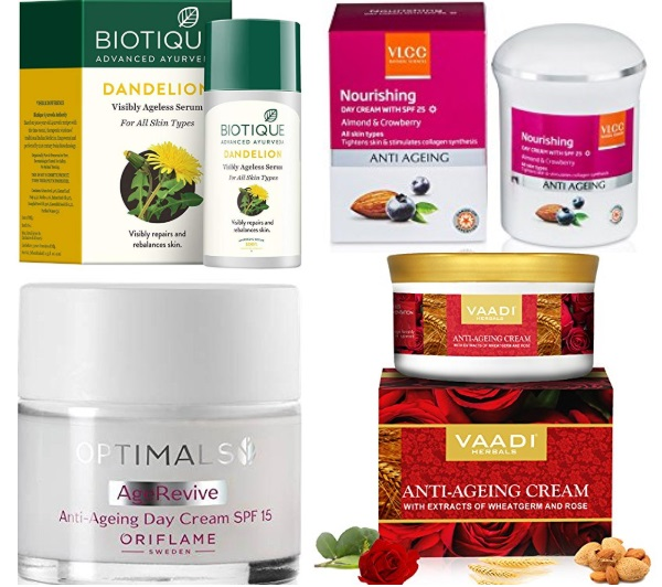 Best Anti Aging Creams for Oily Skin in India