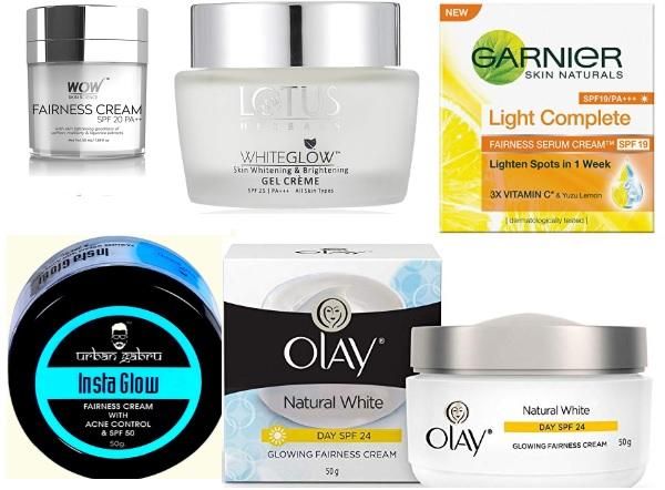 Best Fairness Creams for Oily Acne Prone Skin in India