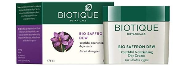 Biotique Bio Saffron Dew Youthful Nourishing Day Cream
