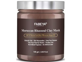 FABEYA Moroccan Rhassoul Clay Mask