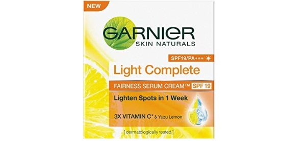 Garnier Skin Naturals, Light Complete Serum Cream SPF 19