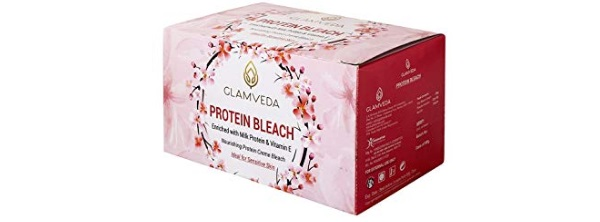 Glamveda Protein Bleach with Vitamin E