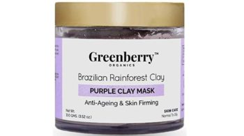 Greenberry Organics Brazilian Rainforest Purple Clay Mask