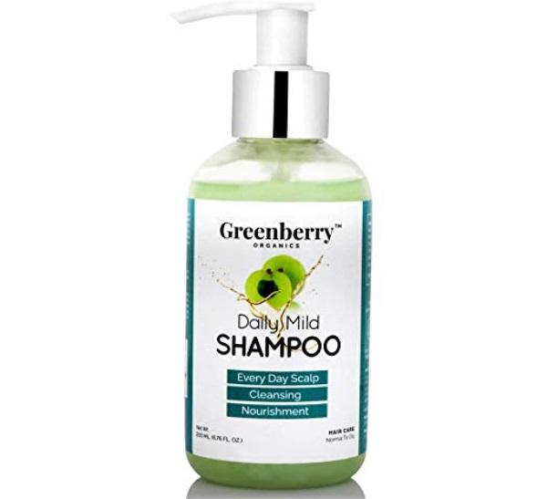 Greenberry Organics Daily Mild Shampoo