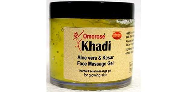KHADI Omorose Aloevera Gel with Liquorice and Cucumber Extracts