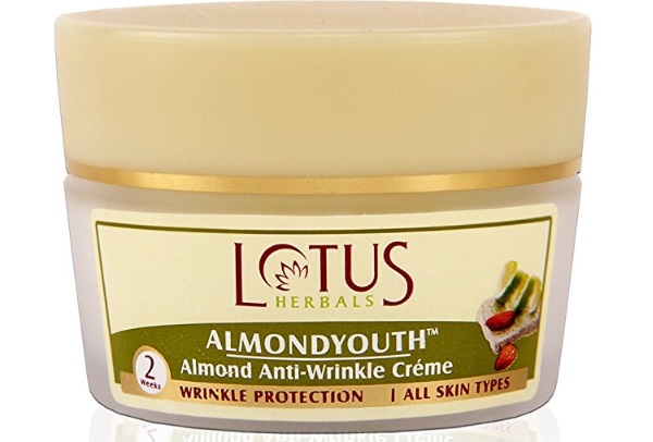Lotus Herbals Almondyouth Almond Anti-Wrinkle Cream
