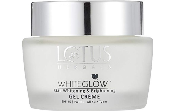 Lotus Herbals Whiteglow Skin Whitening and Brightening Gel Cream SPF-25