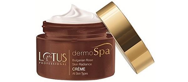 Lotus Professional Dermo Spa Bulgarian Rose Skin Radiance Creme with SPF20