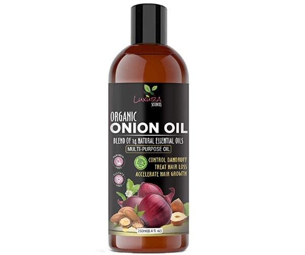 Luxura Sciences Onion Hair Oil for Hair Growth
