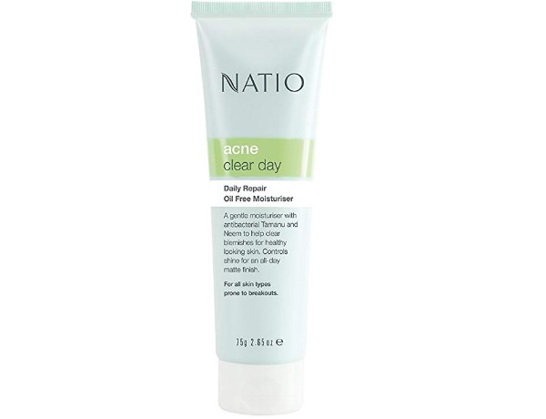 Natio Acne Clear Day Daily Repair Oil Free Moisturiser