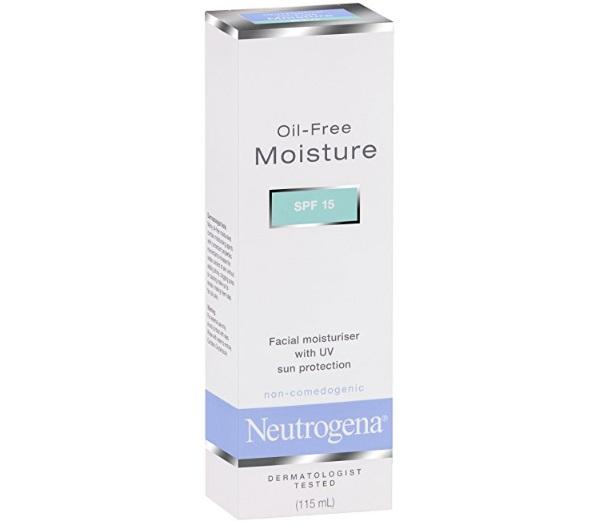 Neutrogena Oil-Free Moisturizer SPF 15