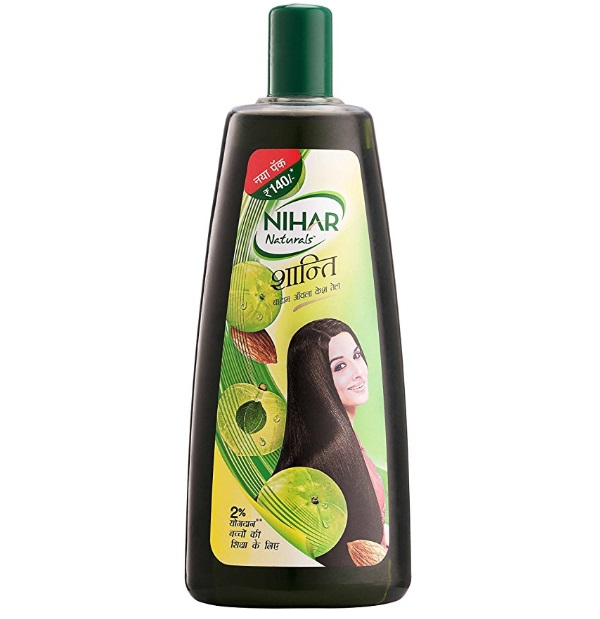 Nihar Naturals Shanti Badam Amla Hair Oil