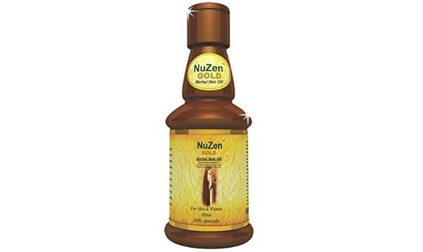 Nuzen Herbal Gold Hair Oil