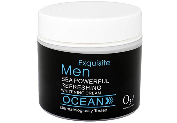 O3+ Exquisite Men Sea Powerful Refreshing Ocean Whitening Cream
