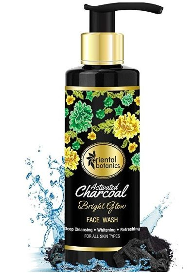 Oriental-Botanics-Activated-Charcoal-Bright-Glow-Face-Wash