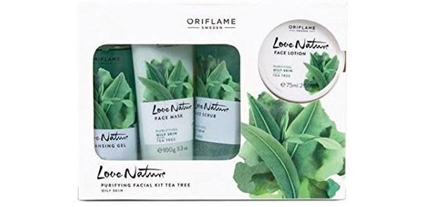 Oriflame Sweden Ayurvedic Tea Tree Nature Facial Kit