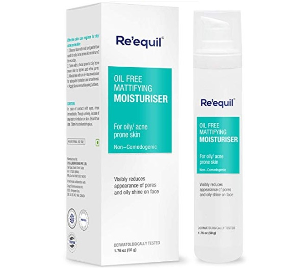RE' EQUIL Oil-free Mattifying Moisturiser