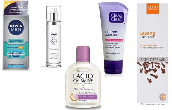 Top 20 Best Light Moisturizers For Oily Acne Prone Skin In India