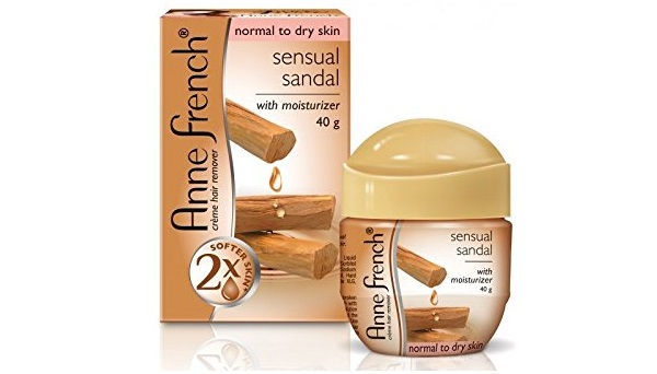 Anne French Sensual Sandal Hair Remover with Moisturizer