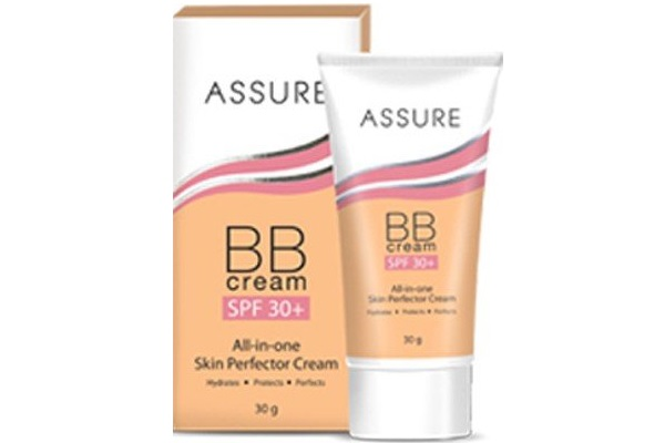 Assure BB Cream SPF 30+ All In One Skin Protection Cream