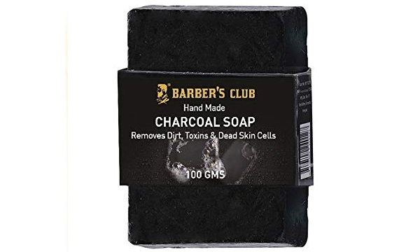 Barber's Club Hand Made Organic Charcoal Soap