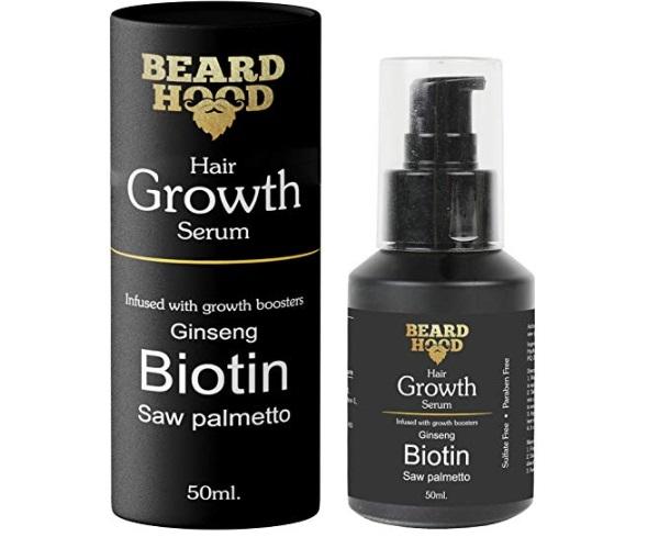 Beardhood Beard and Hair Growth Serum