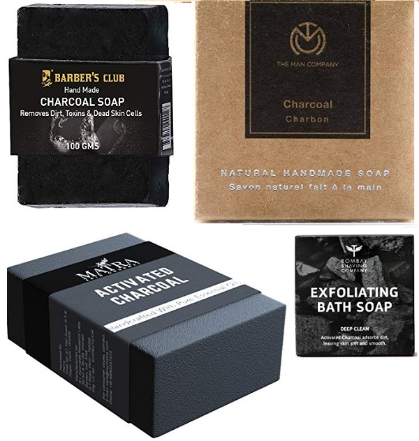 Best Charcoal Soaps in India