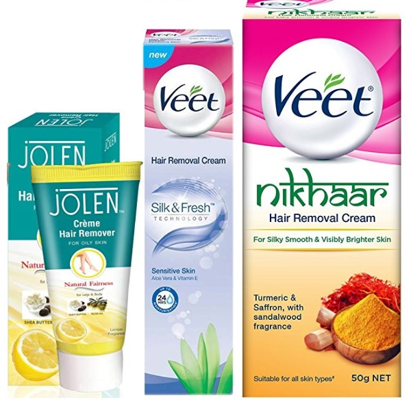 Top 10 Best Hair Removal Creams In India 2020