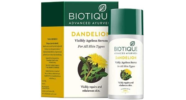 Biotique Bio Dandelion Visibly Ageless Serum