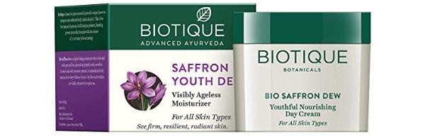Biotique Bio Saffron Dew Youthful Nourishing Cream