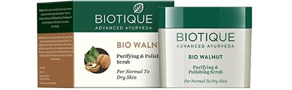 Biotique Bio Walnut Purifying & Polishing Scrub for Normal to Dry Skin