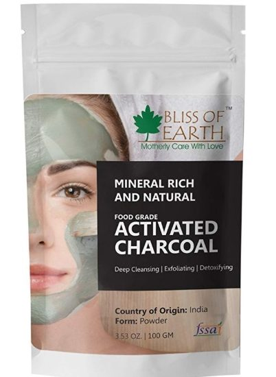 Bliss of Earth 100% Natural Activated Charcoal Powder