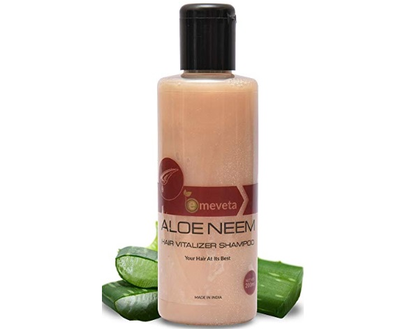 Emeveta 100% Herbal Organic Aloe Vera Neem Shampoo