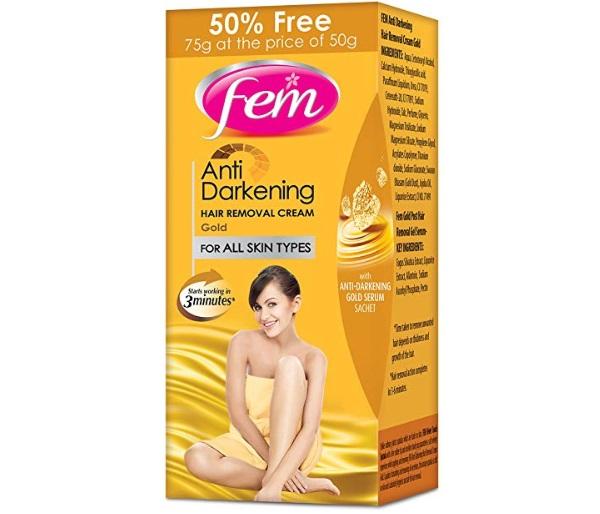 Fem Anti Darkening Gentle Hair Removal Cream
