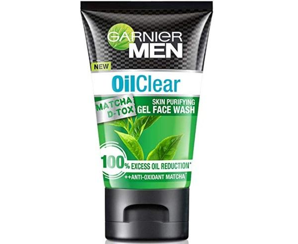 Garnier Men Oil Clear Matcha D-tox Gel Facewash