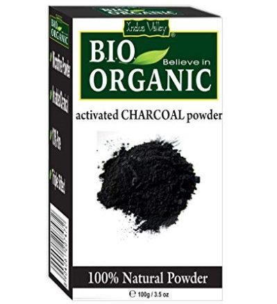 Indus Valley 100 Percent Natural Activated Charcoal Powder