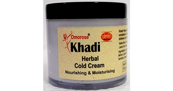 KHADI Omorose Herbal Cold Cream with Shea Butter