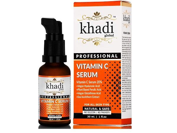 khadi vitamin c serum