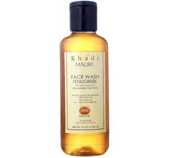 Khadi Mauri Herbal Fenugreek (Methi) Face Wash