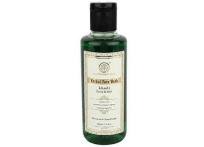 Khadi Natural Neem and Tulsi Herbal Face Wash