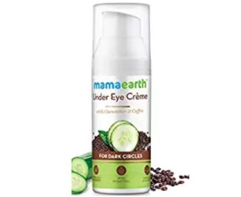 Mamaearth Natural Under Eye Cream for Dark Circles & Wrinkles