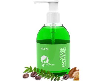 Mcaffeine Neem Face Wash Cleanser with Argan Oil & Vitamin E