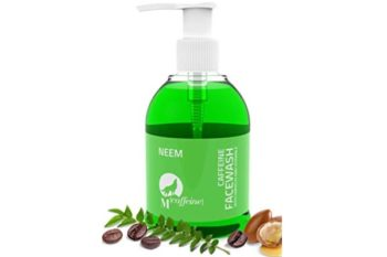 Mcaffeine Neem Face Wash Cleanser with Argan Oil and Vitamin E