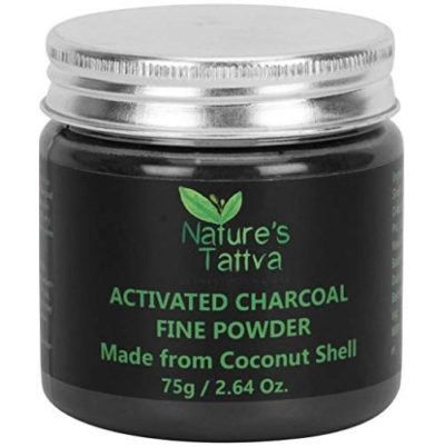 Nature's Tattva Activated Charcoal Fine Powder