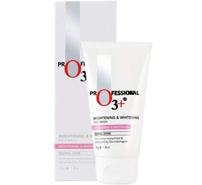 O3+ Brightening and Whitening Face Wash