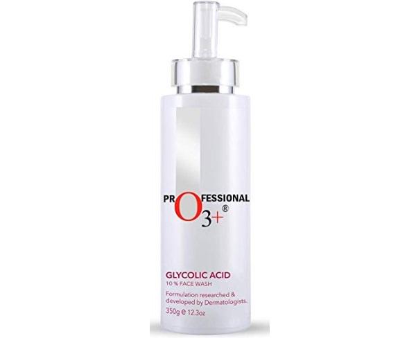 O3+ Glycolic Acid 10% Face Wash