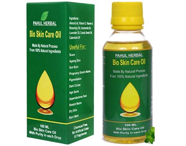 Pahul Herbal Bio Skin Care Oil for Pregnancy stretch marks