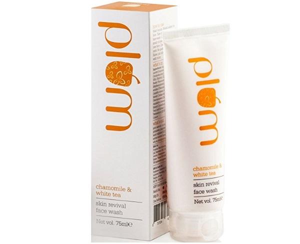 Plum Skin Revival Face Wash, Chamomile and White Tea